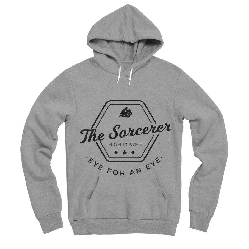 Pippa - Sorcerer - Black Men's Sponge Fleece Pullover Hoody by fantasticworldspod's Artist Shop