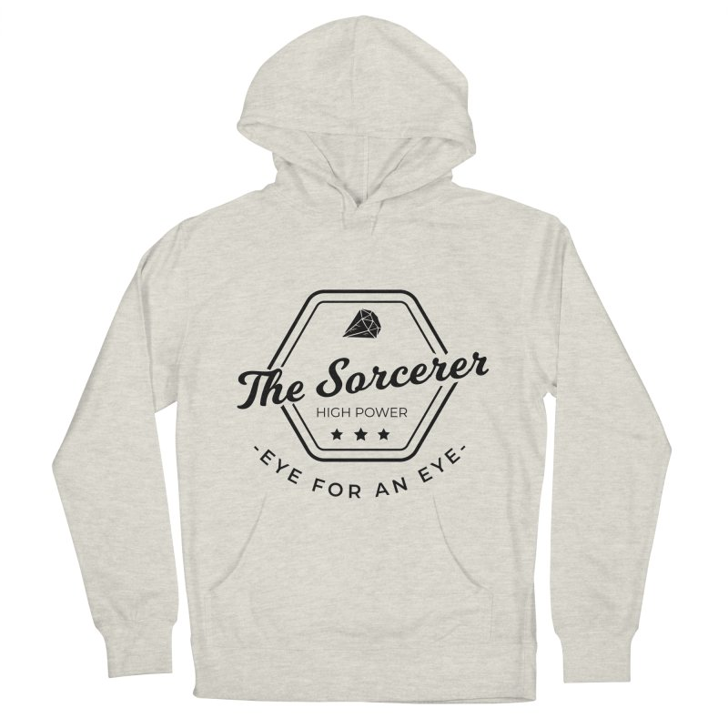 Pippa - Sorcerer - Black Women's French Terry Pullover Hoody by fantastic worlds pod's Artist Shop