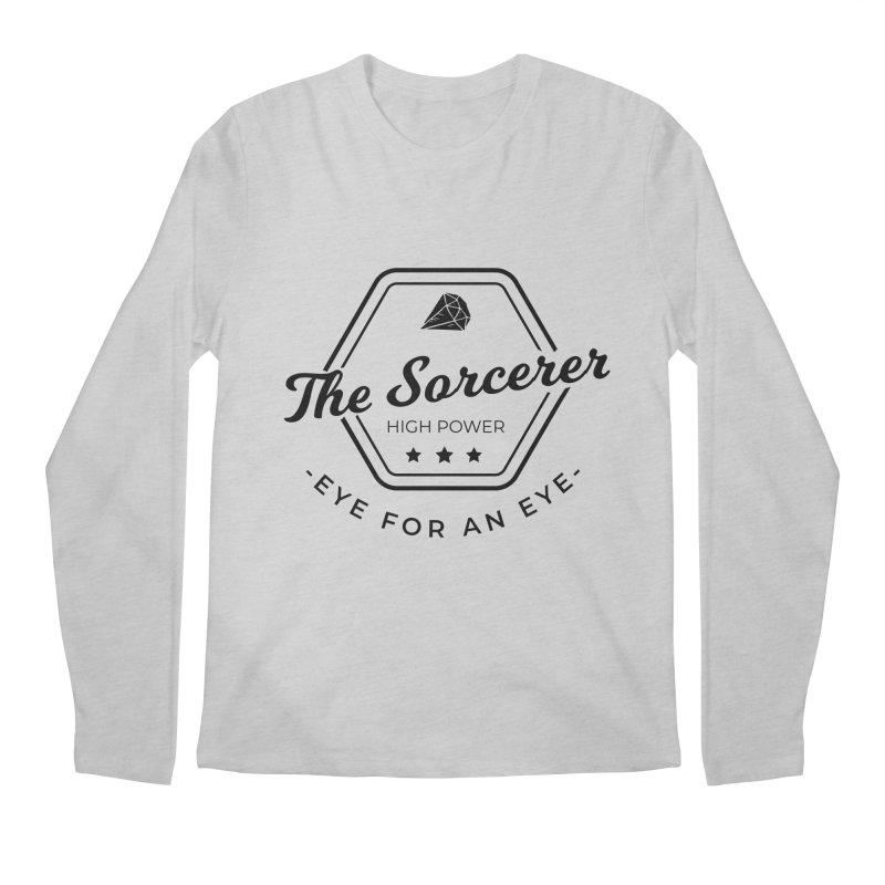 Pippa - Sorcerer - Black Men's Regular Longsleeve T-Shirt by Fantastic Worlds Podcast  Shop