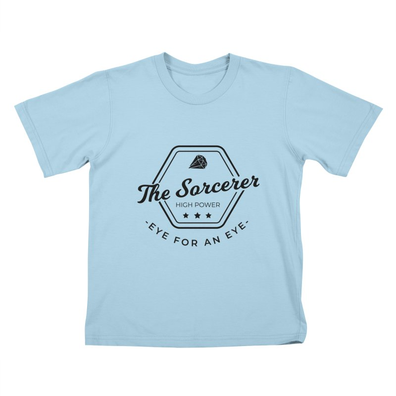 Pippa - Sorcerer - Black Kids T-Shirt by fantastic worlds pod's Artist Shop