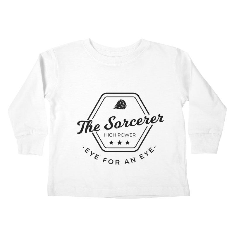 Pippa - Sorcerer - Black Kids Toddler Longsleeve T-Shirt by fantastic worlds pod's Artist Shop