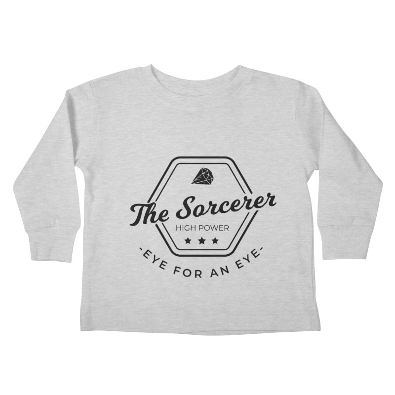 Pippa - Sorcerer - Black Kids Toddler Longsleeve T-Shirt by fantastic worlds pod's Artist Shop