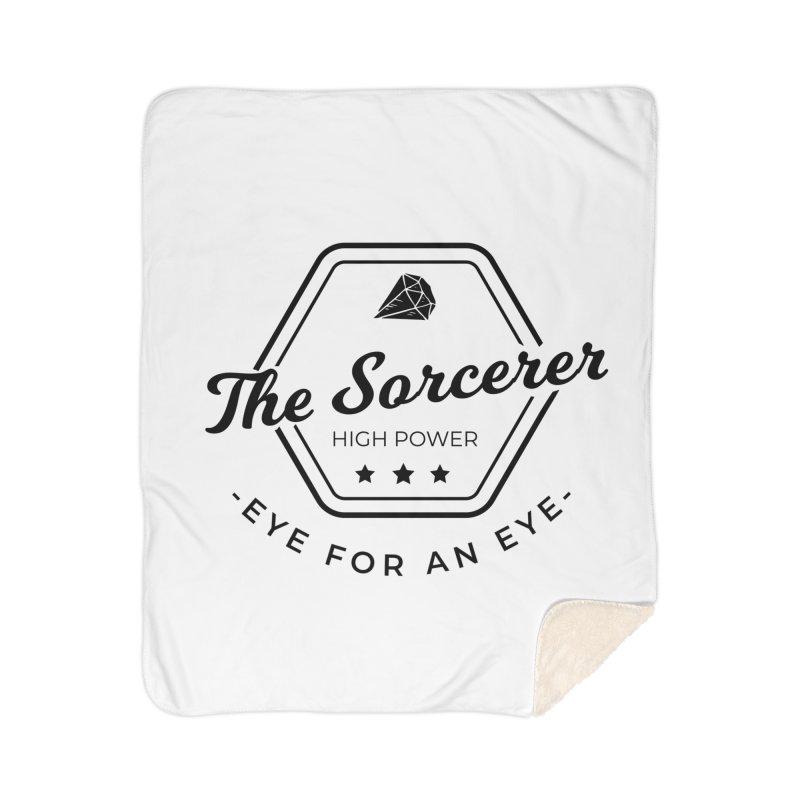 Pippa - Sorcerer - Black Home Sherpa Blanket Blanket by fantastic worlds pod's Artist Shop