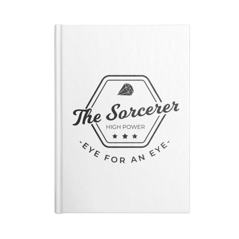 Pippa - Sorcerer - Black Accessories Blank Journal Notebook by fantastic worlds pod's Artist Shop
