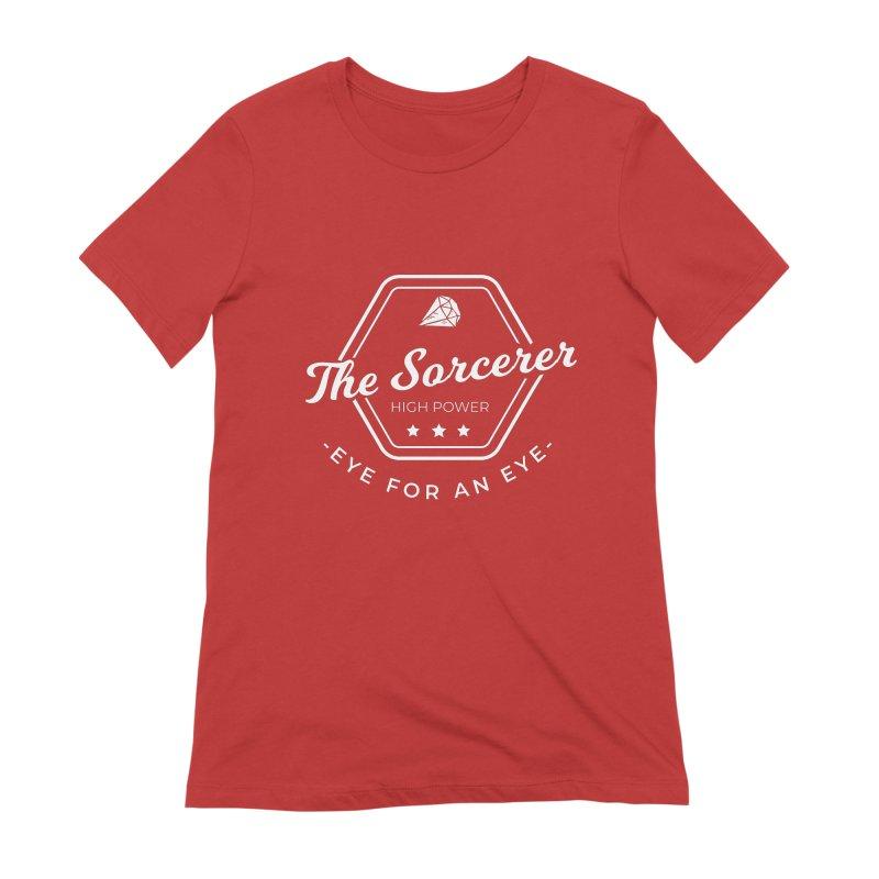 Pippa - Sorcerer - White Women's Extra Soft T-Shirt by fantasticworldspod's Artist Shop