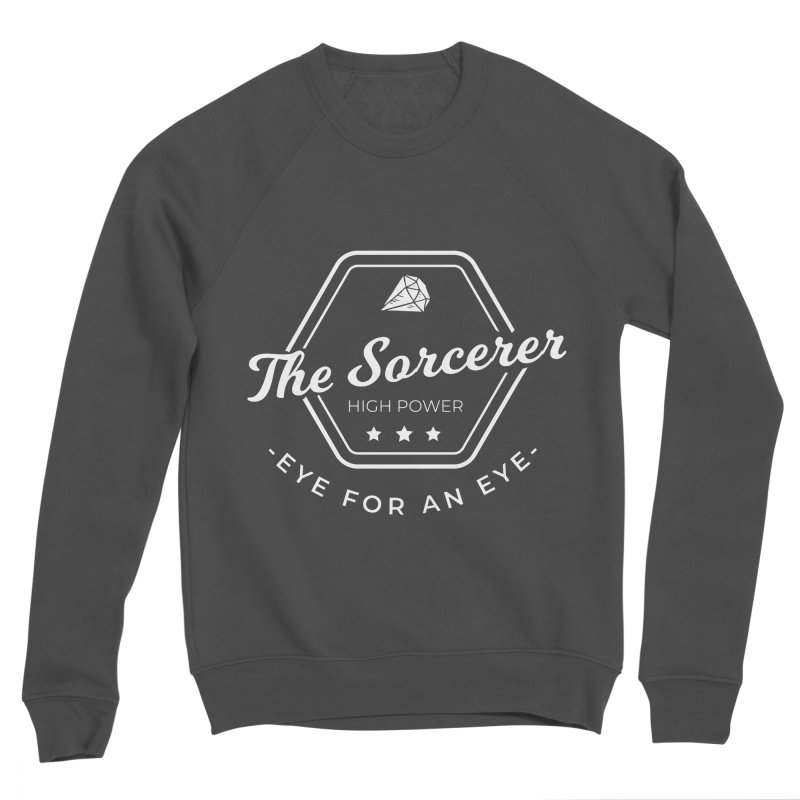 Pippa - Sorcerer - White Women's Sponge Fleece Sweatshirt by fantastic worlds pod's Artist Shop