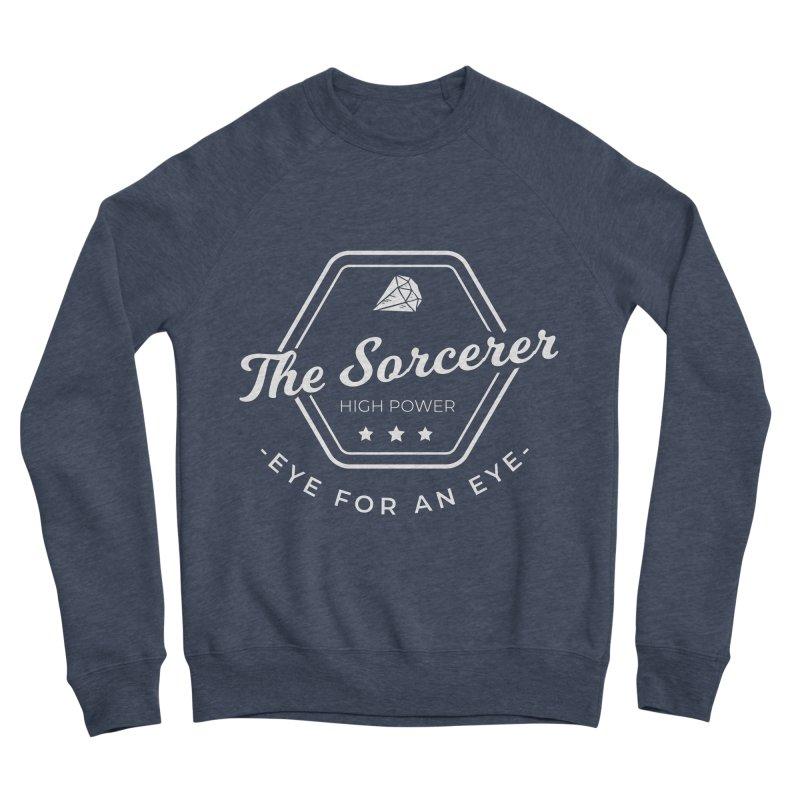 Pippa - Sorcerer - White Men's Sponge Fleece Sweatshirt by fantastic worlds pod's Artist Shop