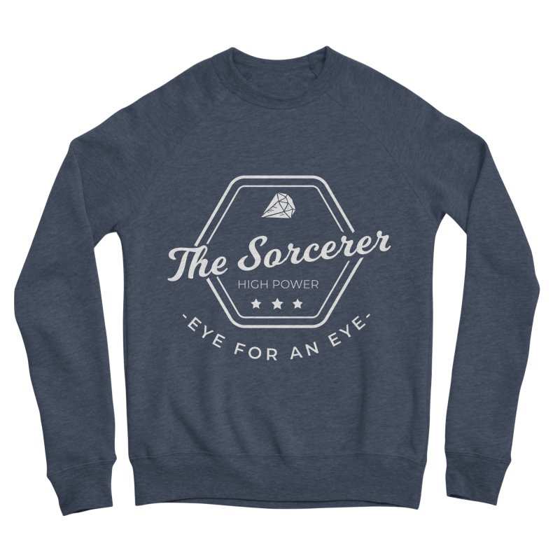 Pippa - Sorcerer - White Women's Sponge Fleece Sweatshirt by fantastic worlds pod's Artist Shop