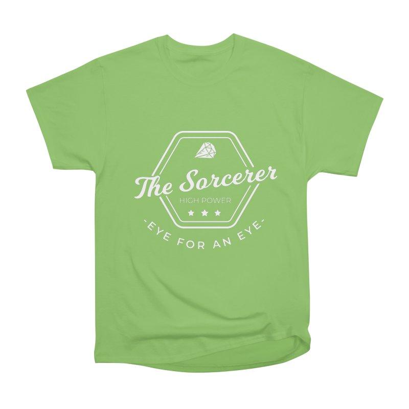 Pippa - Sorcerer - White Men's Heavyweight T-Shirt by fantastic worlds pod's Artist Shop