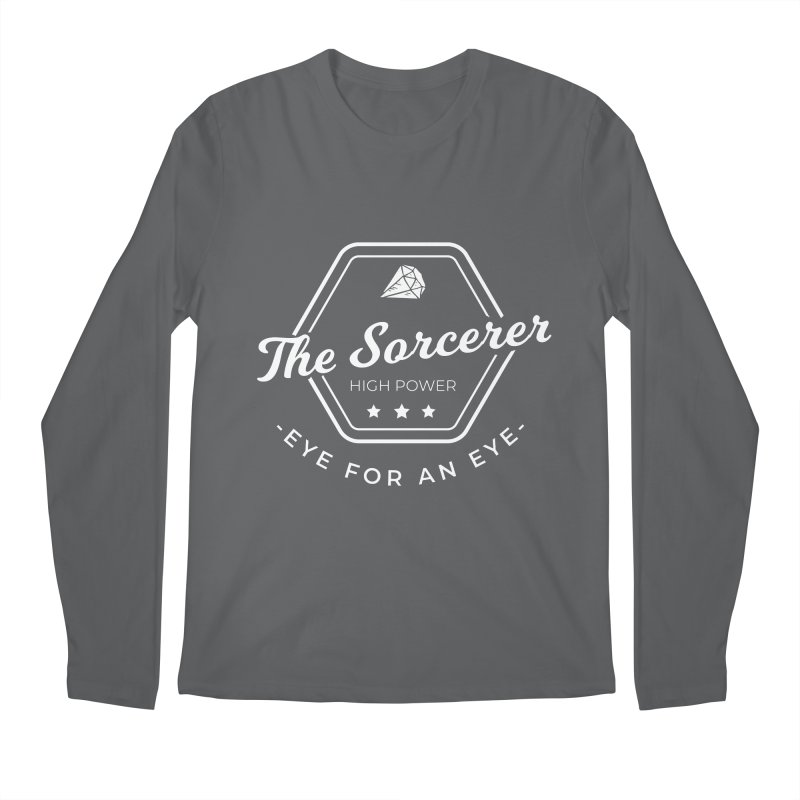 Pippa - Sorcerer - White Men's Regular Longsleeve T-Shirt by fantasticworldspod's Artist Shop