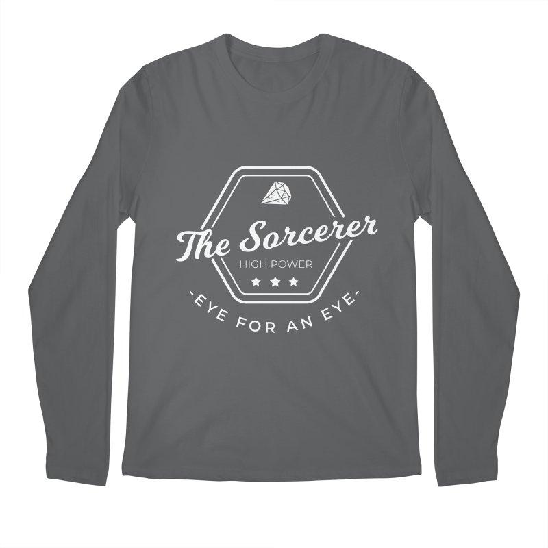 Pippa - Sorcerer - White Men's Regular Longsleeve T-Shirt by Fantastic Worlds Podcast  Shop