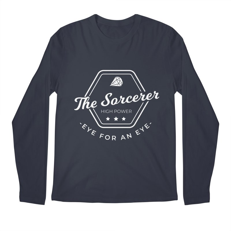 Pippa - Sorcerer - White Men's Regular Longsleeve T-Shirt by fantastic worlds pod's Artist Shop
