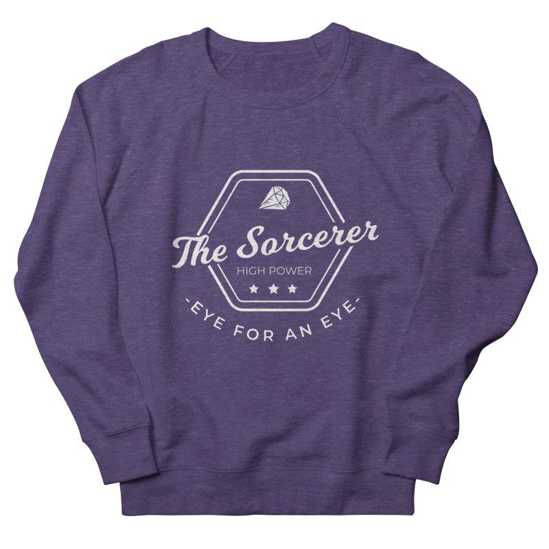Pippa - Sorcerer - White Men's French Terry Sweatshirt by fantastic worlds pod's Artist Shop