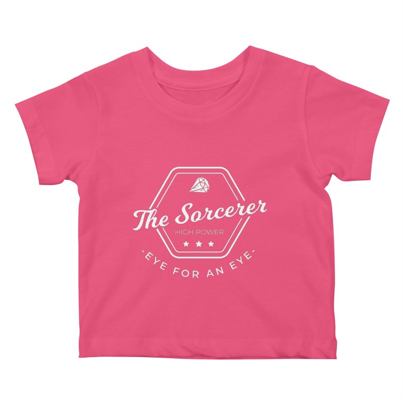 Pippa - Sorcerer - White Kids Baby T-Shirt by fantastic worlds pod's Artist Shop
