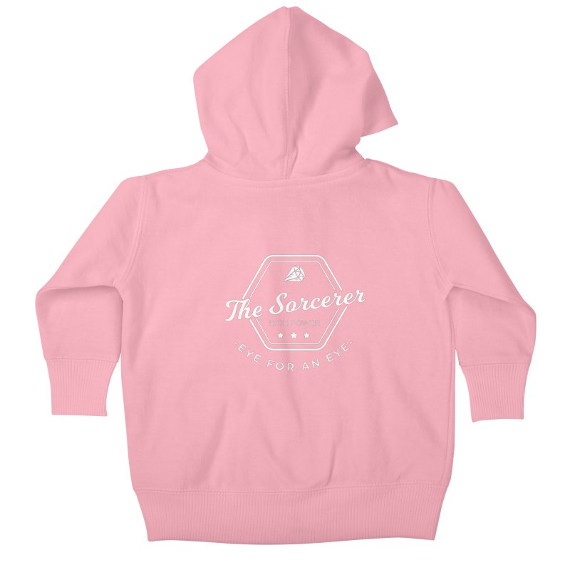 Pippa - Sorcerer - White Kids Baby Zip-Up Hoody by Fantastic Worlds Podcast  Shop