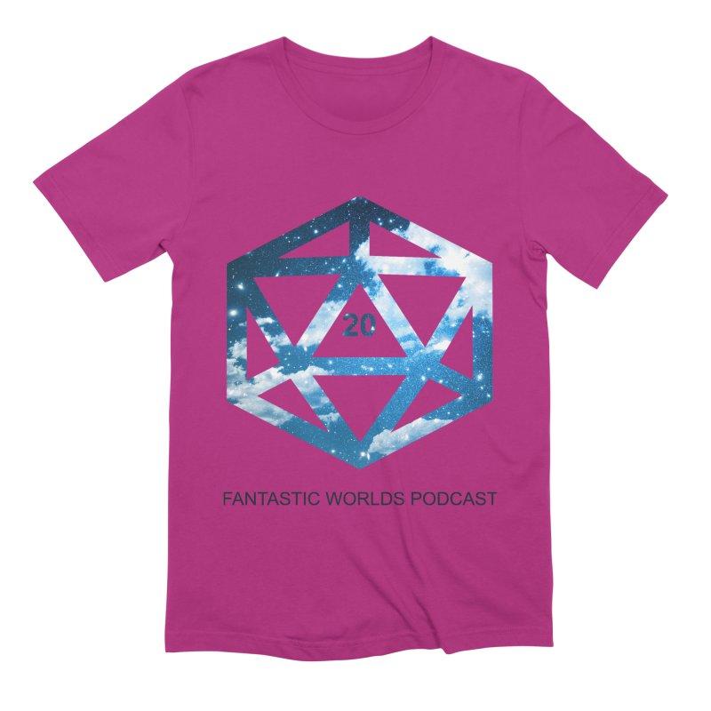 Logo - Black Text Men's Extra Soft T-Shirt by fantasticworldspod's Artist Shop
