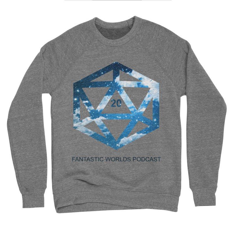 Logo - Black Text Men's Sponge Fleece Sweatshirt by fantasticworldspod's Artist Shop