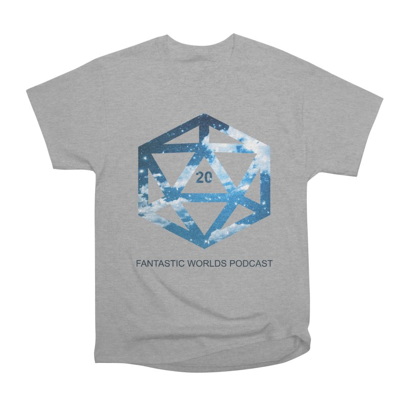 Logo - Black Text Women's Heavyweight Unisex T-Shirt by fantasticworldspod's Artist Shop