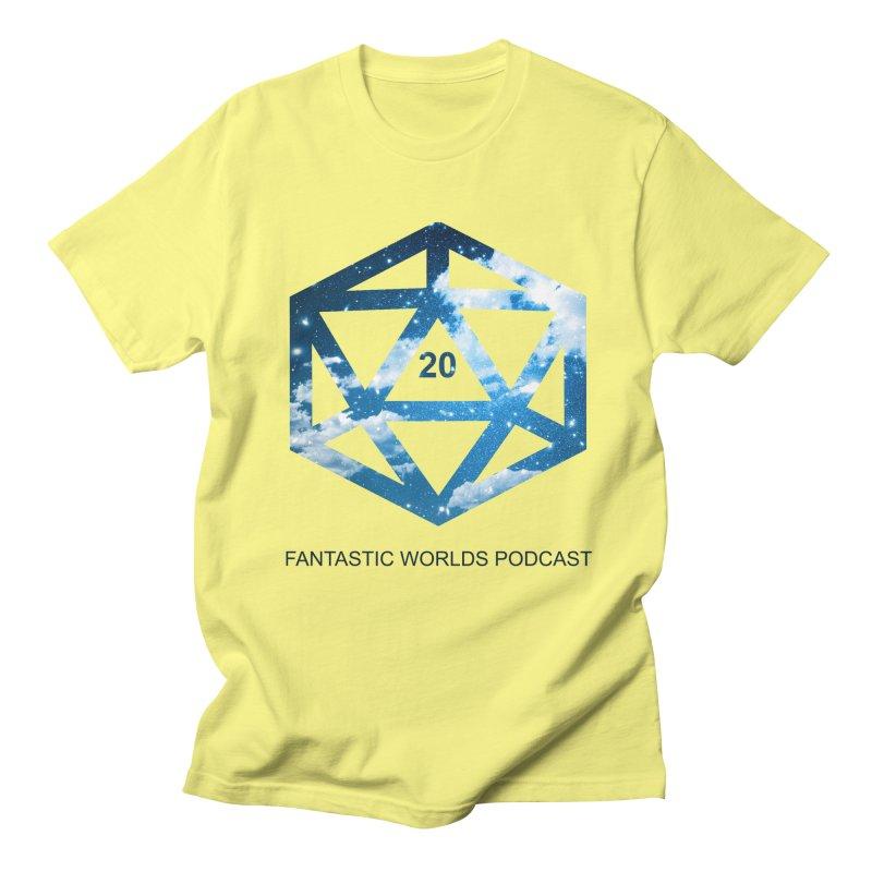 Logo - Black Text Women's Regular Unisex T-Shirt by fantastic worlds pod's Artist Shop