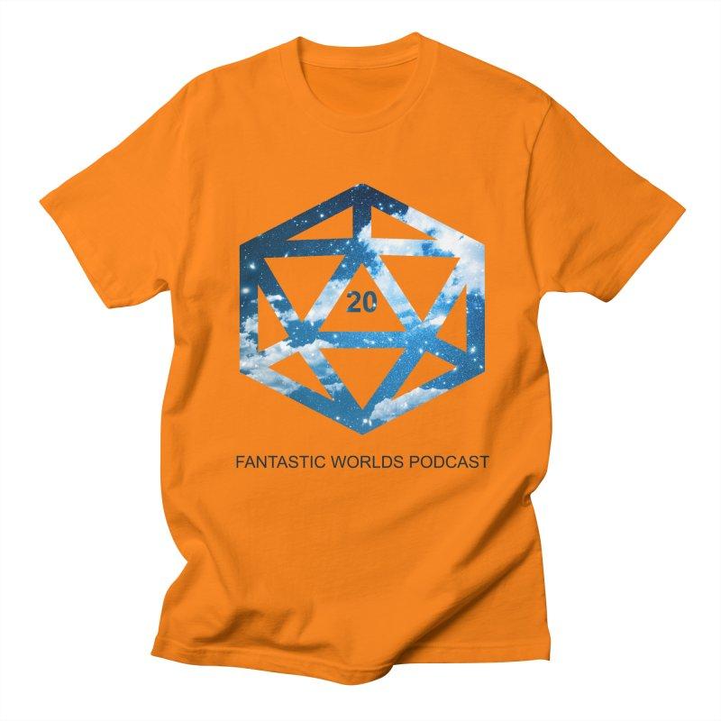 Logo - Black Text Women's Regular Unisex T-Shirt by fantasticworldspod's Artist Shop