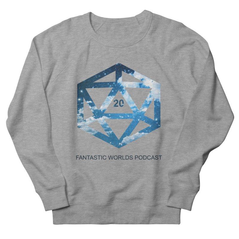 Logo - Black Text Women's French Terry Sweatshirt by fantastic worlds pod's Artist Shop