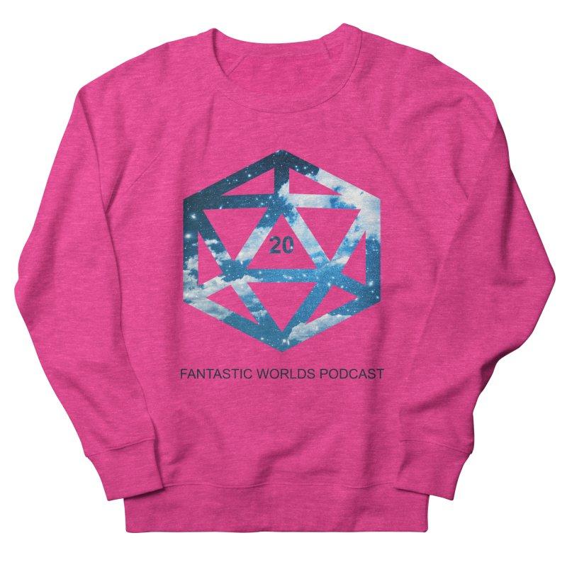 Logo - Black Text Women's French Terry Sweatshirt by fantasticworldspod's Artist Shop