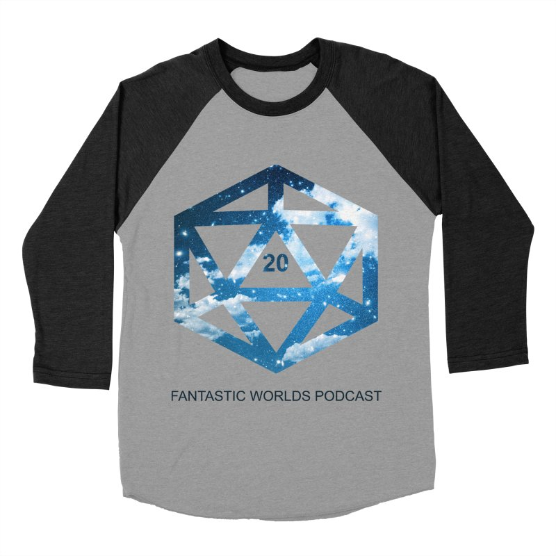Logo - Black Text Women's Baseball Triblend Longsleeve T-Shirt by fantasticworldspod's Artist Shop