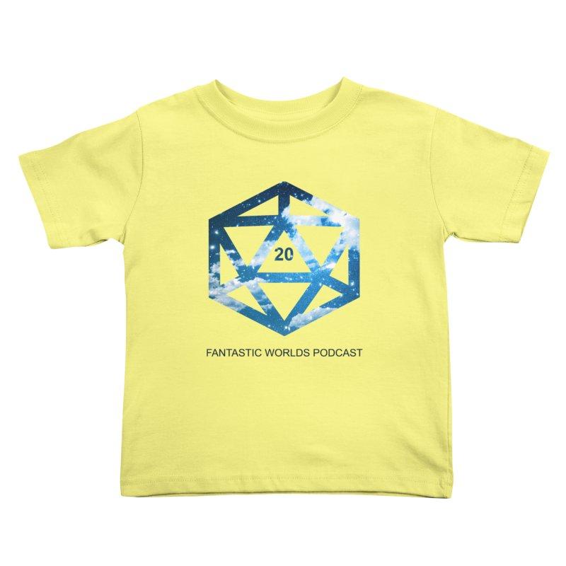Logo - Black Text Kids Toddler T-Shirt by fantasticworldspod's Artist Shop