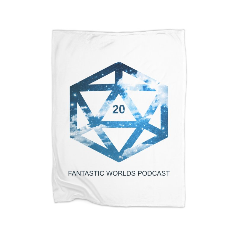 Logo - Black Text Home Blanket by fantasticworldspod's Artist Shop