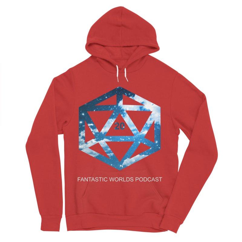 Logo - White Text Women's Sponge Fleece Pullover Hoody by fantasticworldspod's Artist Shop