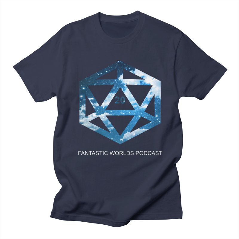 Logo - White Text Women's Regular Unisex T-Shirt by fantasticworldspod's Artist Shop