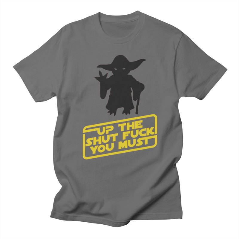 Star Wars Yoda Shut Up Men's T-Shirt by Game Of Thrones and others Collection