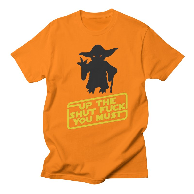 Star Wars Yoda Shut Up Men's Regular T-Shirt by Game Of Thrones and others Collection