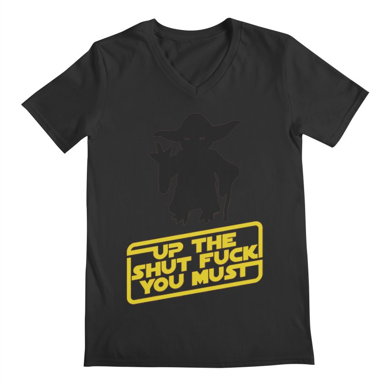 Star Wars Yoda Shut Up Men's V-Neck by Game Of Thrones and others Collection