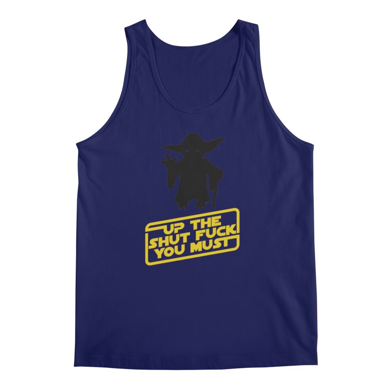 Star Wars Yoda Shut Up Men's Tank by Game Of Thrones and others Collection
