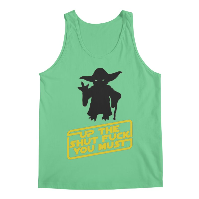 Star Wars Yoda Shut Up Men's Regular Tank by Game Of Thrones and others Collection