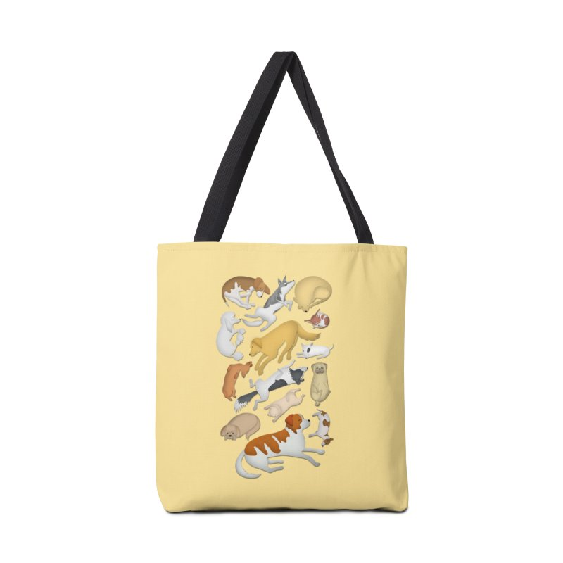 SLEEPING DOGS 101 Accessories Bag by Farly Artist Shop