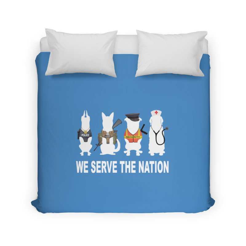 SERVICE DOG Home Duvet by Farly Artist Shop