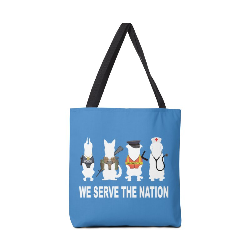 SERVICE DOG Accessories Bag by Farly Artist Shop