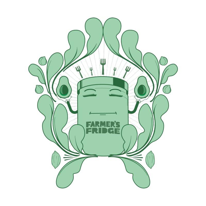Green Goddess (Kwasi Amankwah Artist Collab) Men's Sweatshirt by Farmer's Fridge Merch