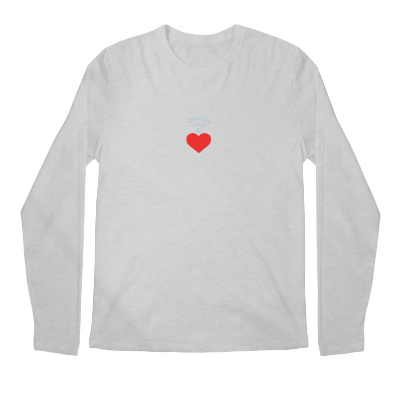 Farmington Voice logo Men's Regular Longsleeve T-Shirt by farmingtonvoice's Artist Shop