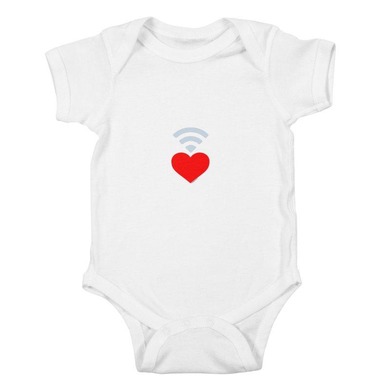 Farmington Voice logo Kids Baby Bodysuit by farmingtonvoice's Artist Shop