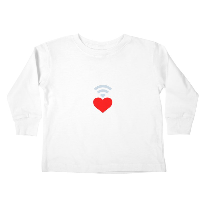 Farmington Voice logo Kids Toddler Longsleeve T-Shirt by farmingtonvoice's Artist Shop