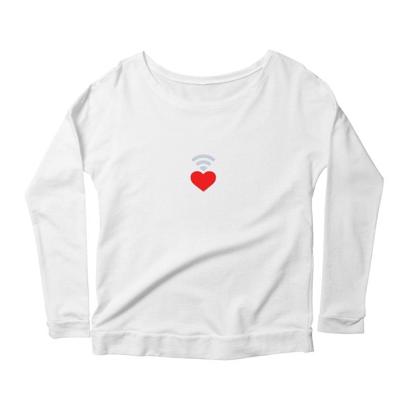 Farmington Voice logo Women's Scoop Neck Longsleeve T-Shirt by farmingtonvoice's Artist Shop