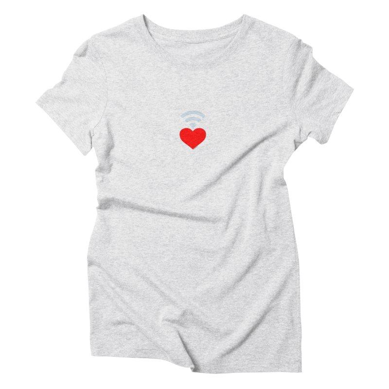 Farmington Voice logo Women's Triblend T-Shirt by farmingtonvoice's Artist Shop