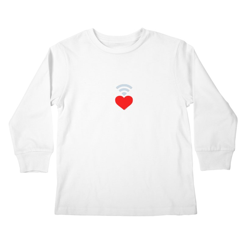 Farmington Voice logo Kids Longsleeve T-Shirt by farmingtonvoice's Artist Shop