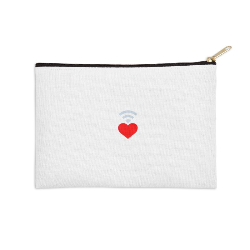 Farmington Voice logo Accessories Zip Pouch by farmingtonvoice's Artist Shop