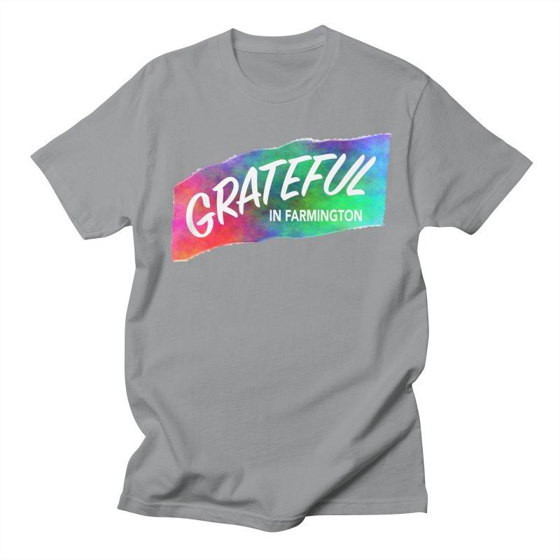Grateful in Farmington Men's Regular T-Shirt by farmingtonvoice's Artist Shop