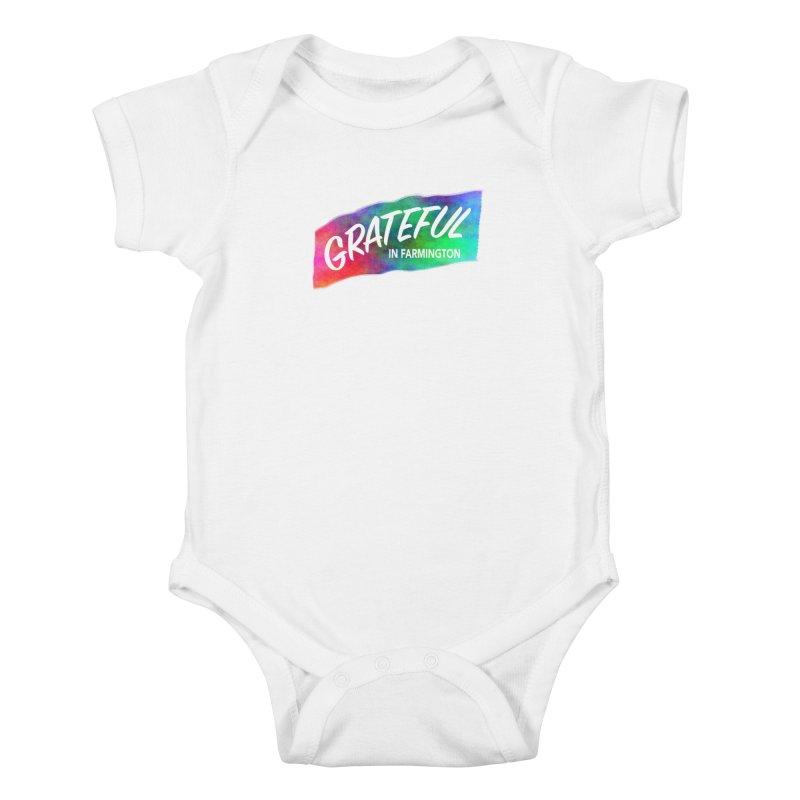 Grateful in Farmington Kids Baby Bodysuit by farmingtonvoice's Artist Shop