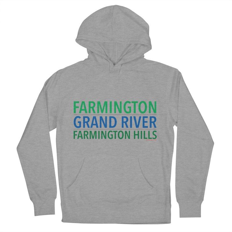 A (Grand) river runs through it Men's Pullover Hoody by farmingtonvoice's Artist Shop